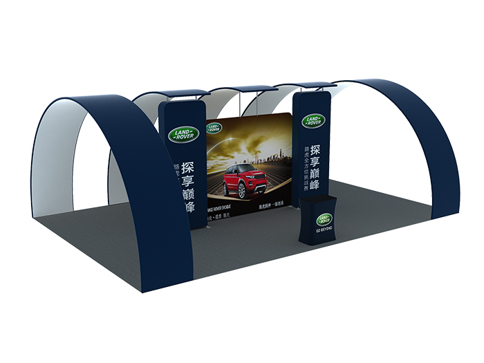 Straight portable display booths(PTC-TFD-S66)