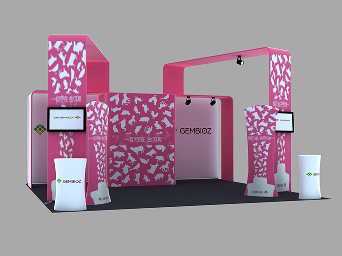 Exhibition display booth(PTC-TFD-S67)