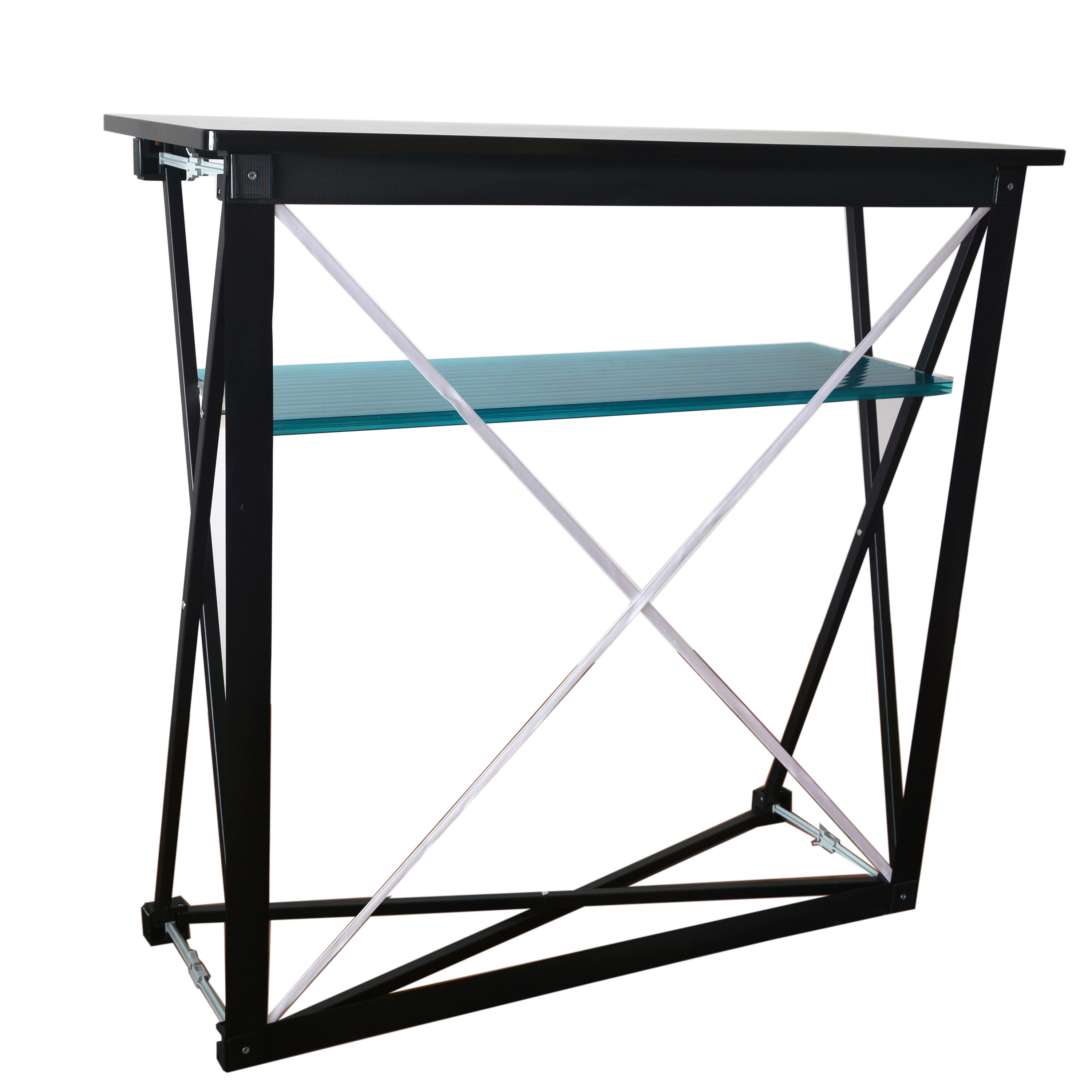 Black fabric Rectangle table(PTC-PT-2)